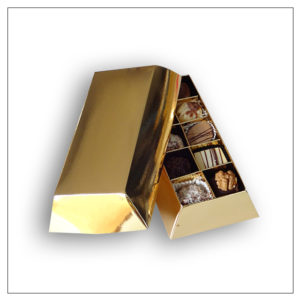 Pudełko sztabka złota + hotstamping EGS-027