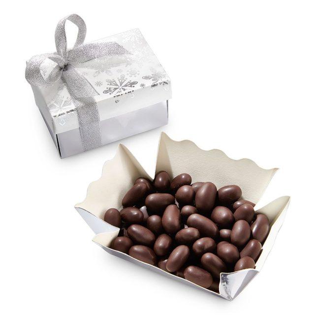 EGS-003/1 Świeżo prażone migdały oblane mleczną czekoladą z chili